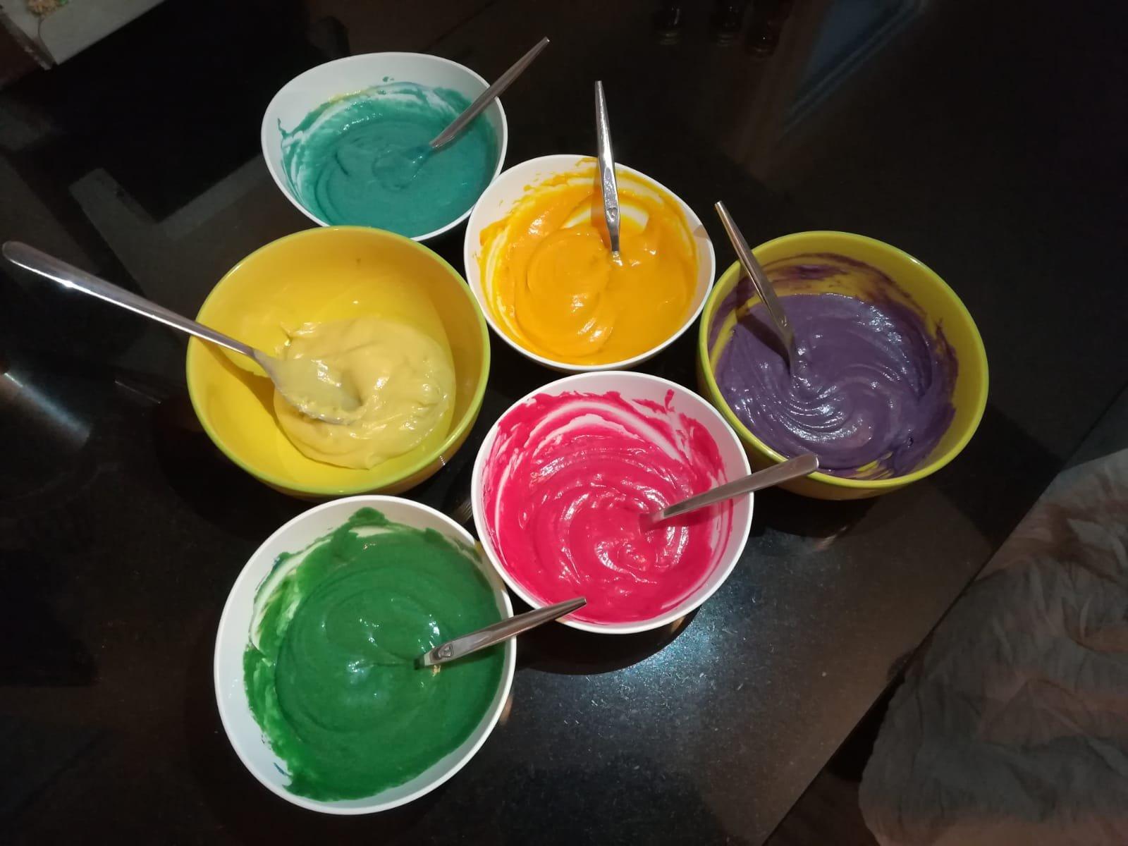 Cupcakes crottes de licornes - ateliers couleurs